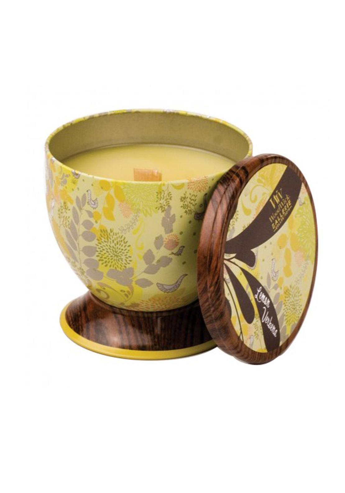 Woodwick Gallerie Collection, Scented Candle, Lemon Verbena
