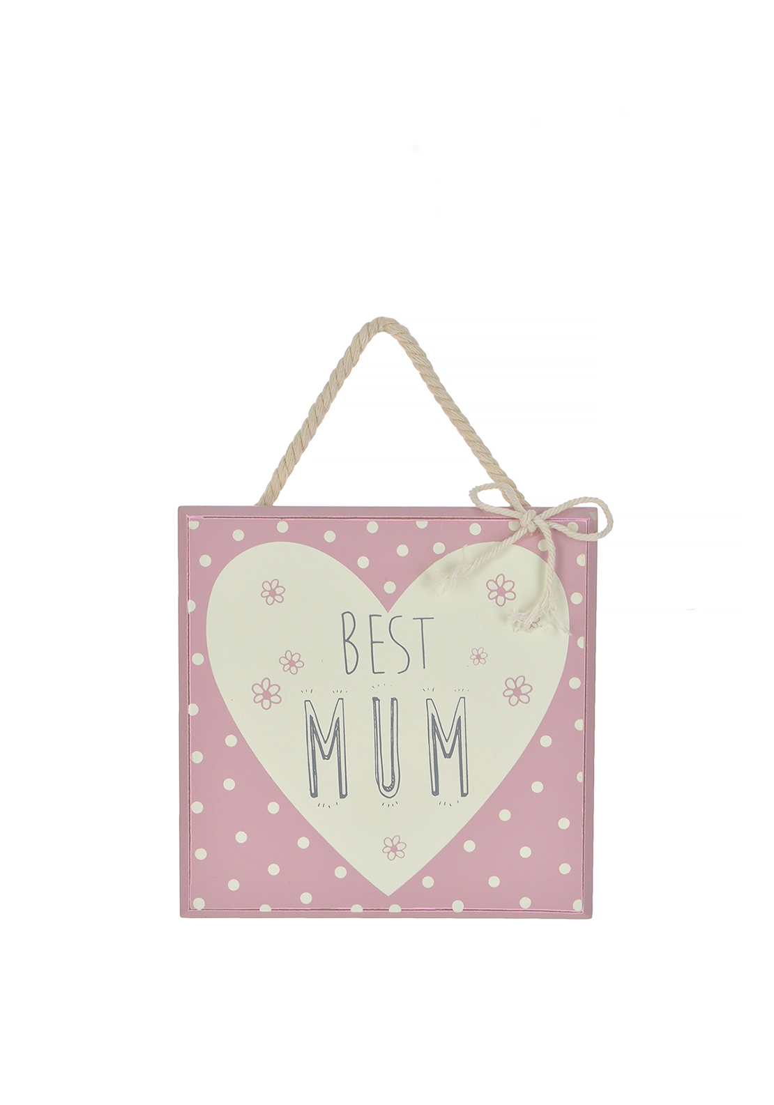 Love Life Best Mum Plaque