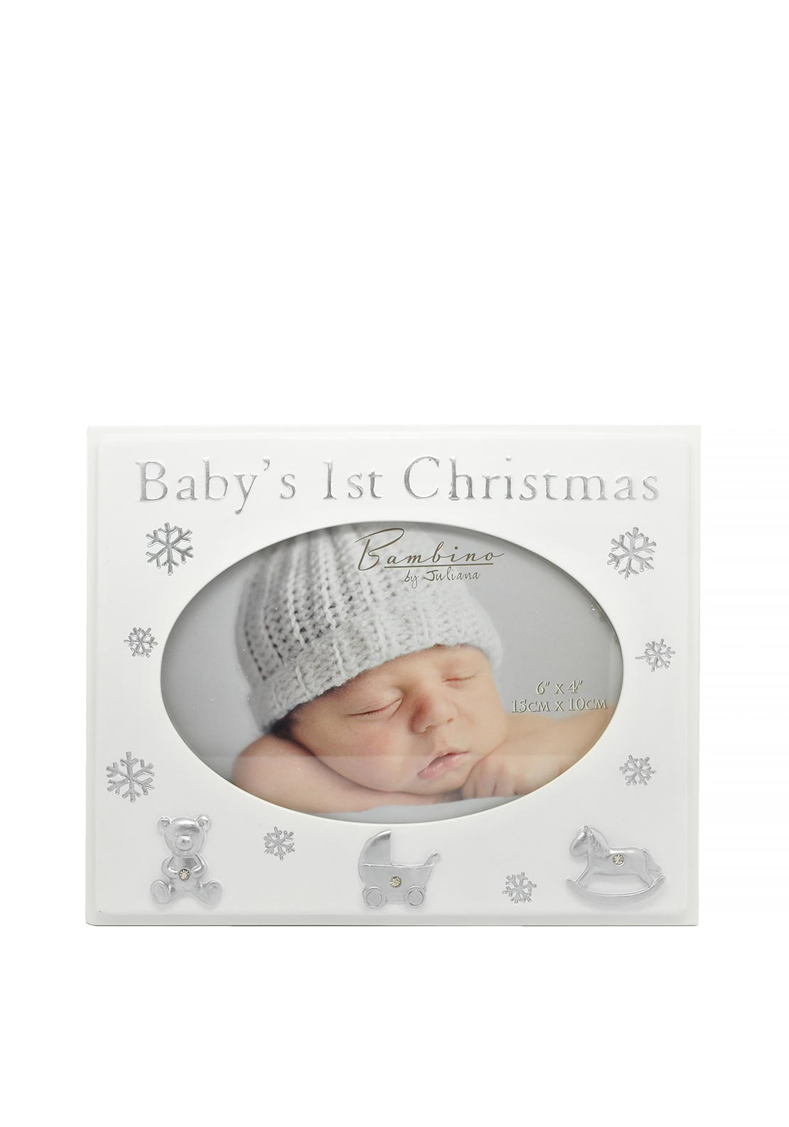 "Babys First Christmas Photo Frame 6"" x 4"""