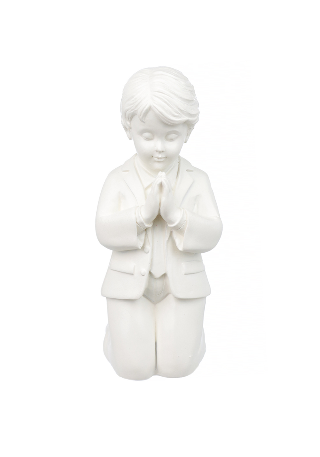 Widdop & Bingham Bless This Child Praying Figurine, Boy