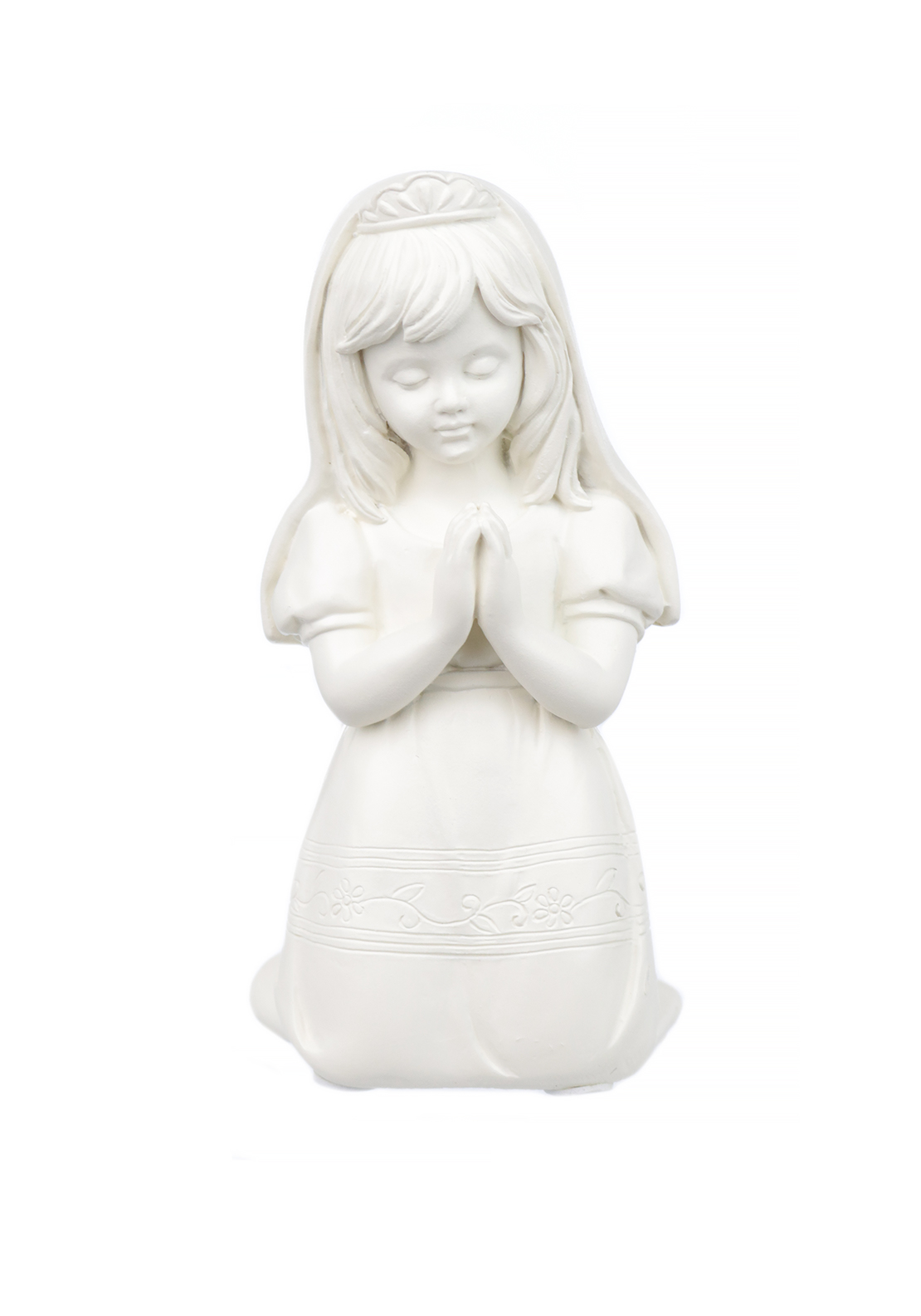 Widdop & Bingham Bless This Child Praying Figurine, Girl