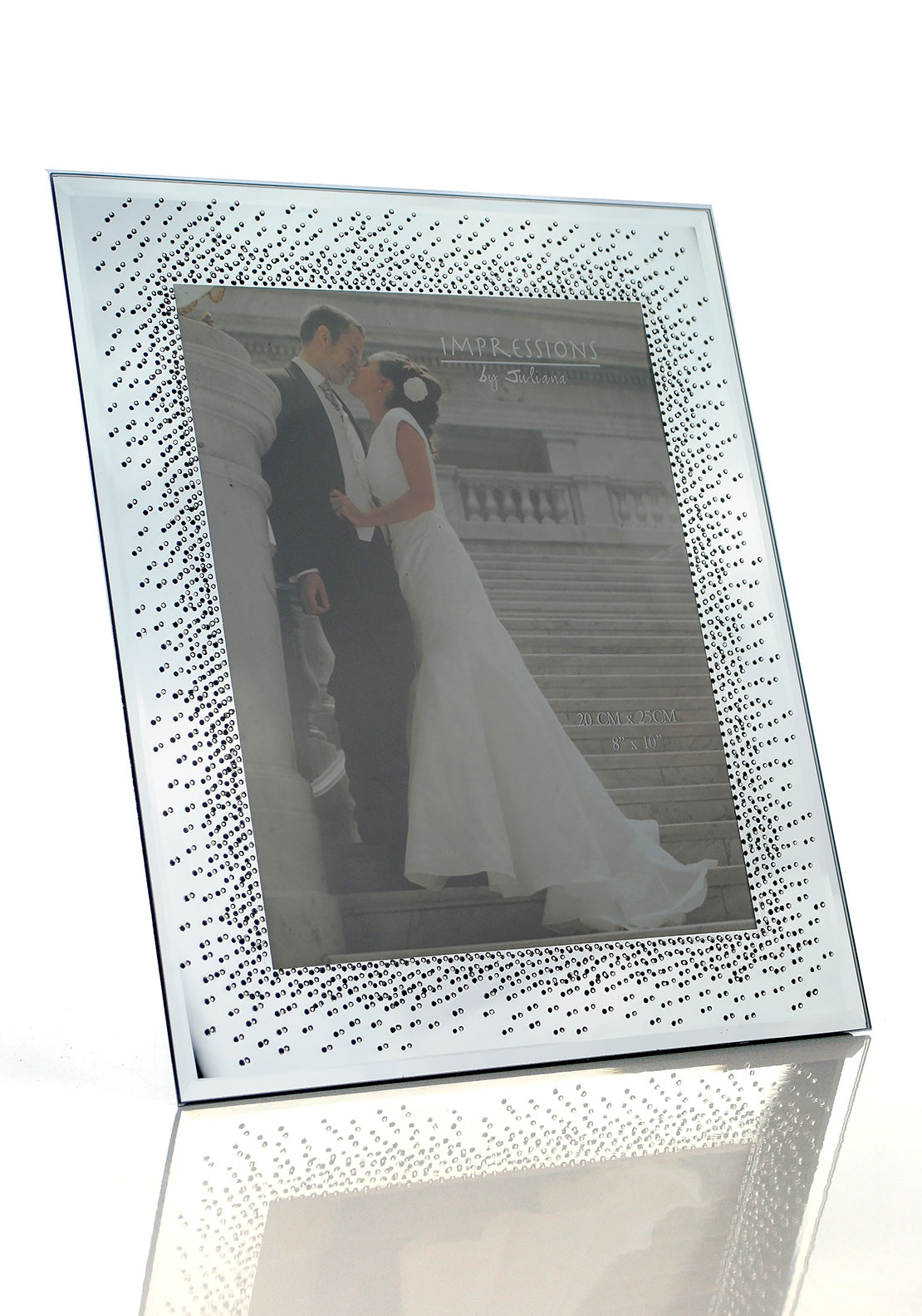 Impressions by Juliana Diamond Encrusted Photo Frame, 8 x 10 inches