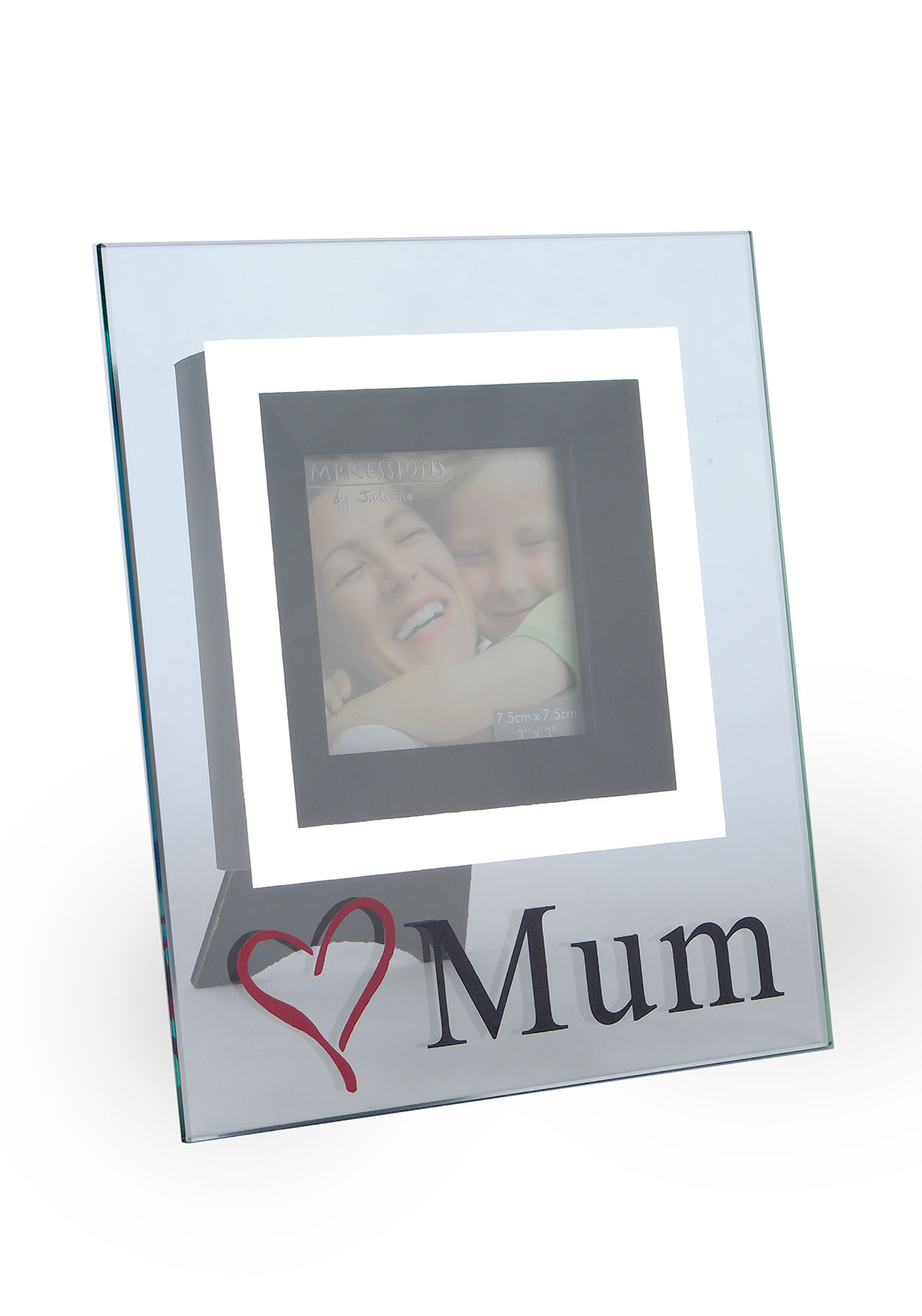 Impressions by Juliana Glass Photo Frame, Love Mum