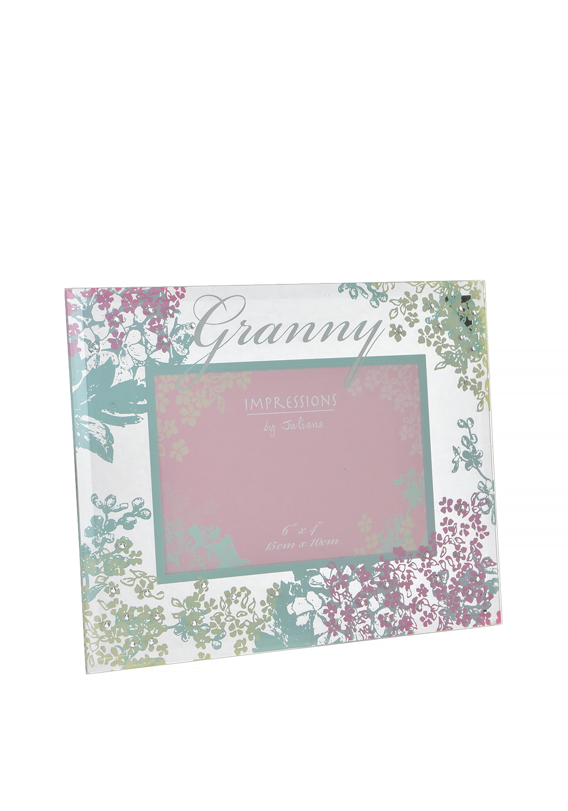 "Impressions by Juliana Granny Glass Photo Frame, 6"" x 4"""