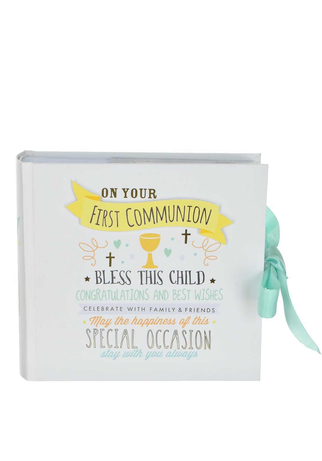 Widdop & Bingham On Your First Communion Photo Album, 6 x 4 inch