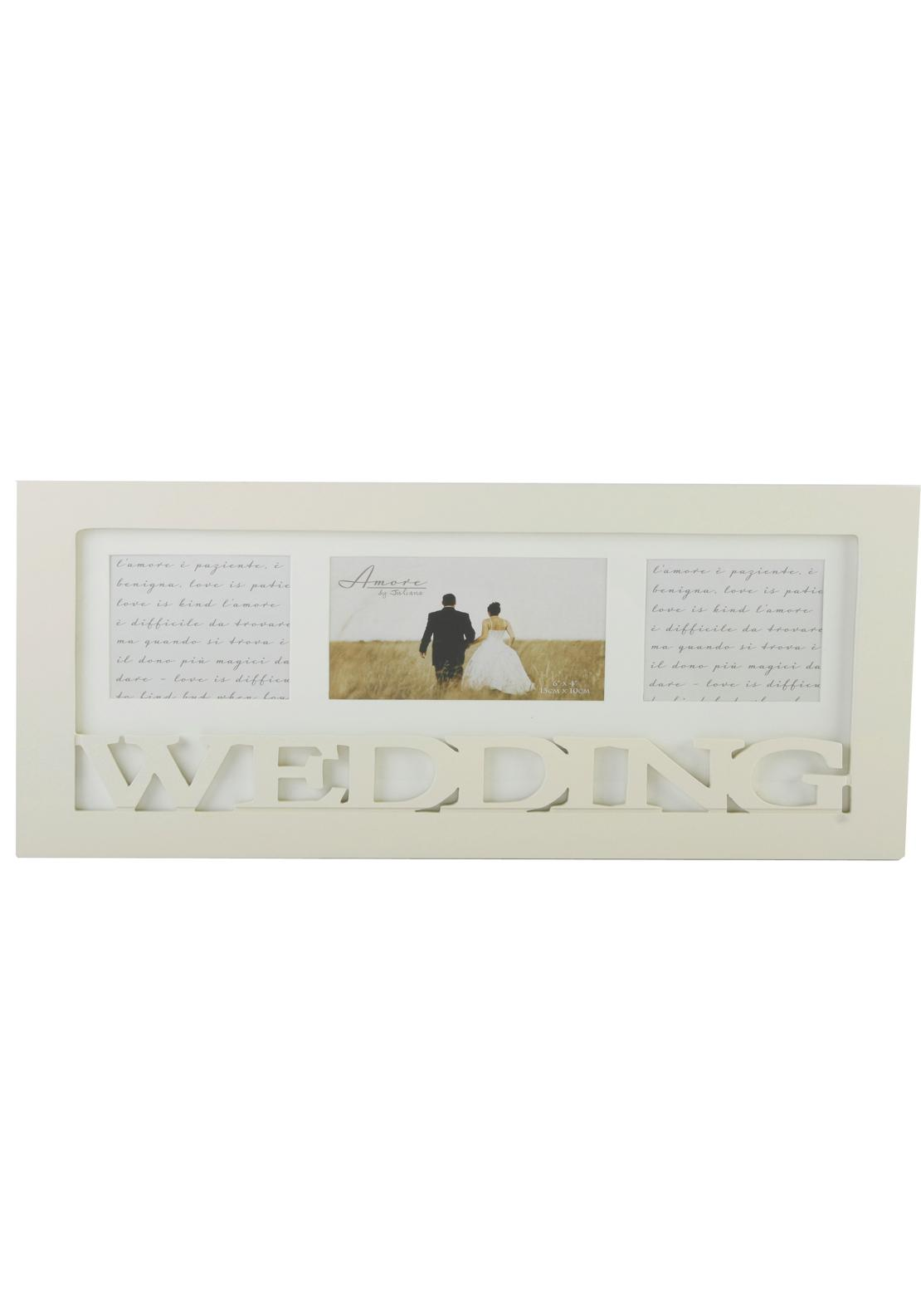 Amore By Juliana Triple Collage Frame, Wedding