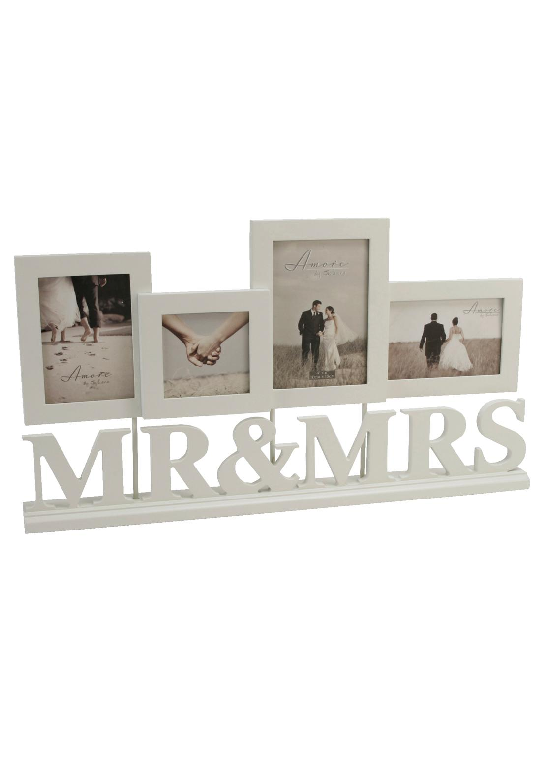 Amore By Juliana Mr and Mrs Photo Frame