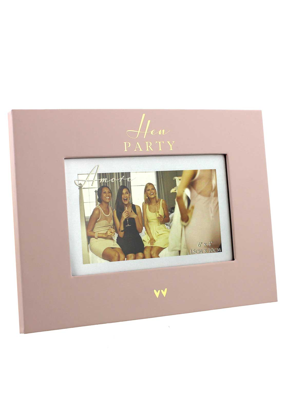 "Amore by Juliana Hen Party Photo Frame, 6"" x 4"""