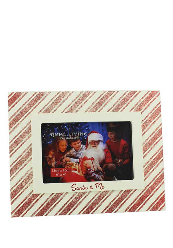 "Home Living by Juliana"" Santa & Me"" Photo Frame, 6 x 4"""
