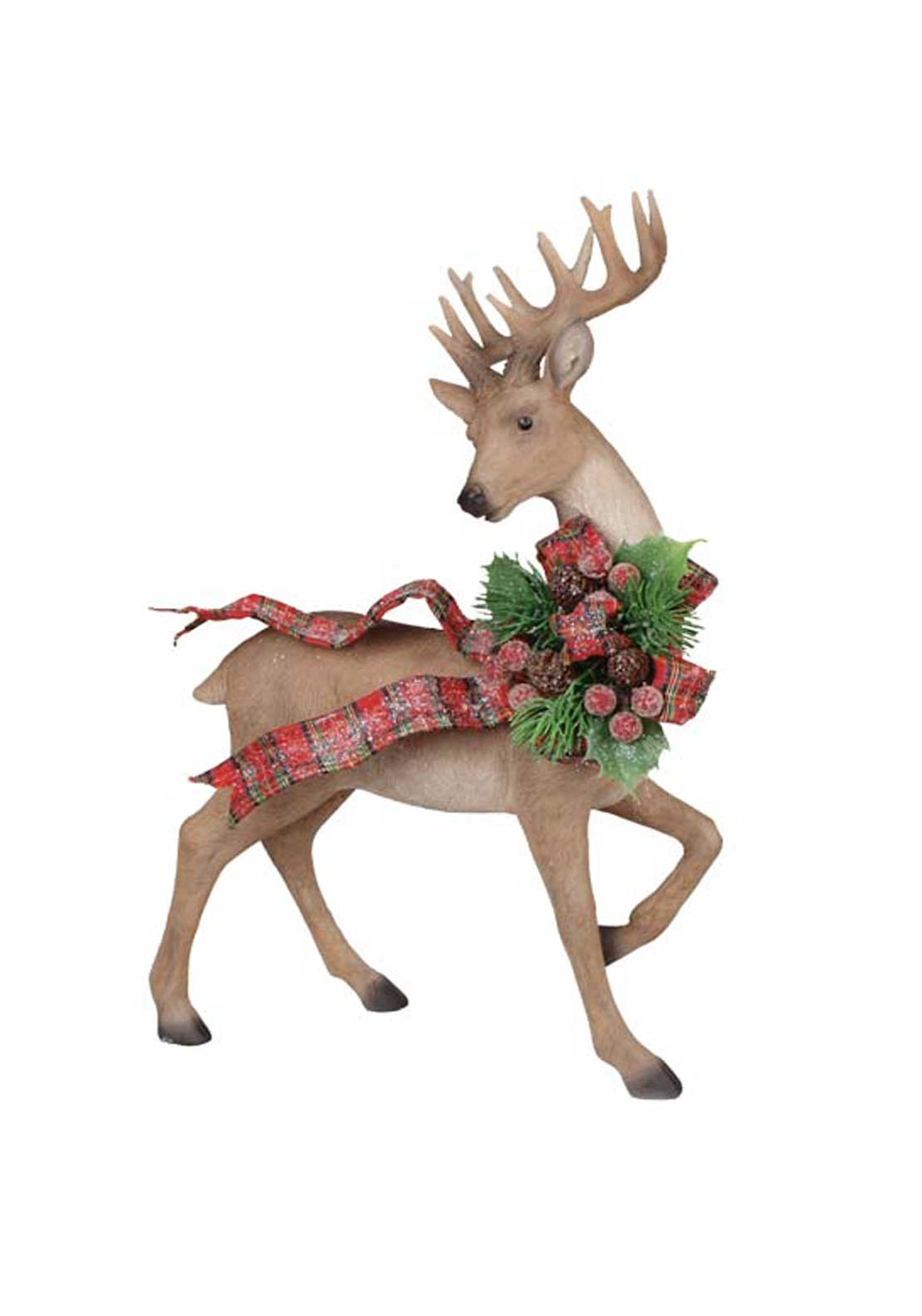 Willow Brooks Christmas Festive Reindeer, Small