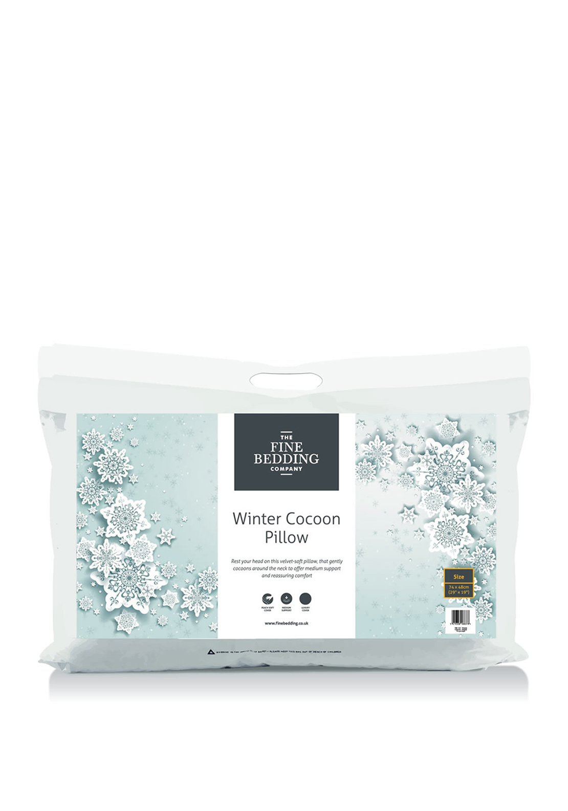 The Fine Bedding Company, Winter Cocoon Pillow Protector Pair