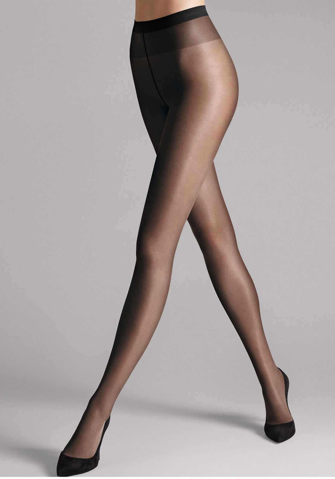 Wolford Satin Touch 20 Sheer Tights, Black