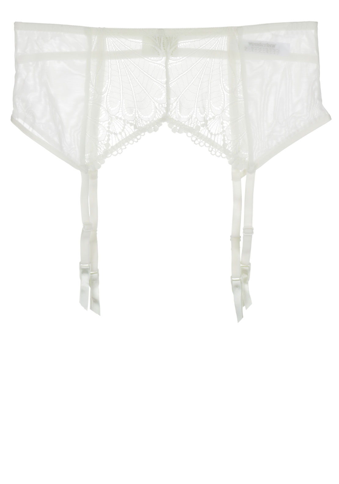 Wonderbra Refined Glamour Suspender Belt, Cream