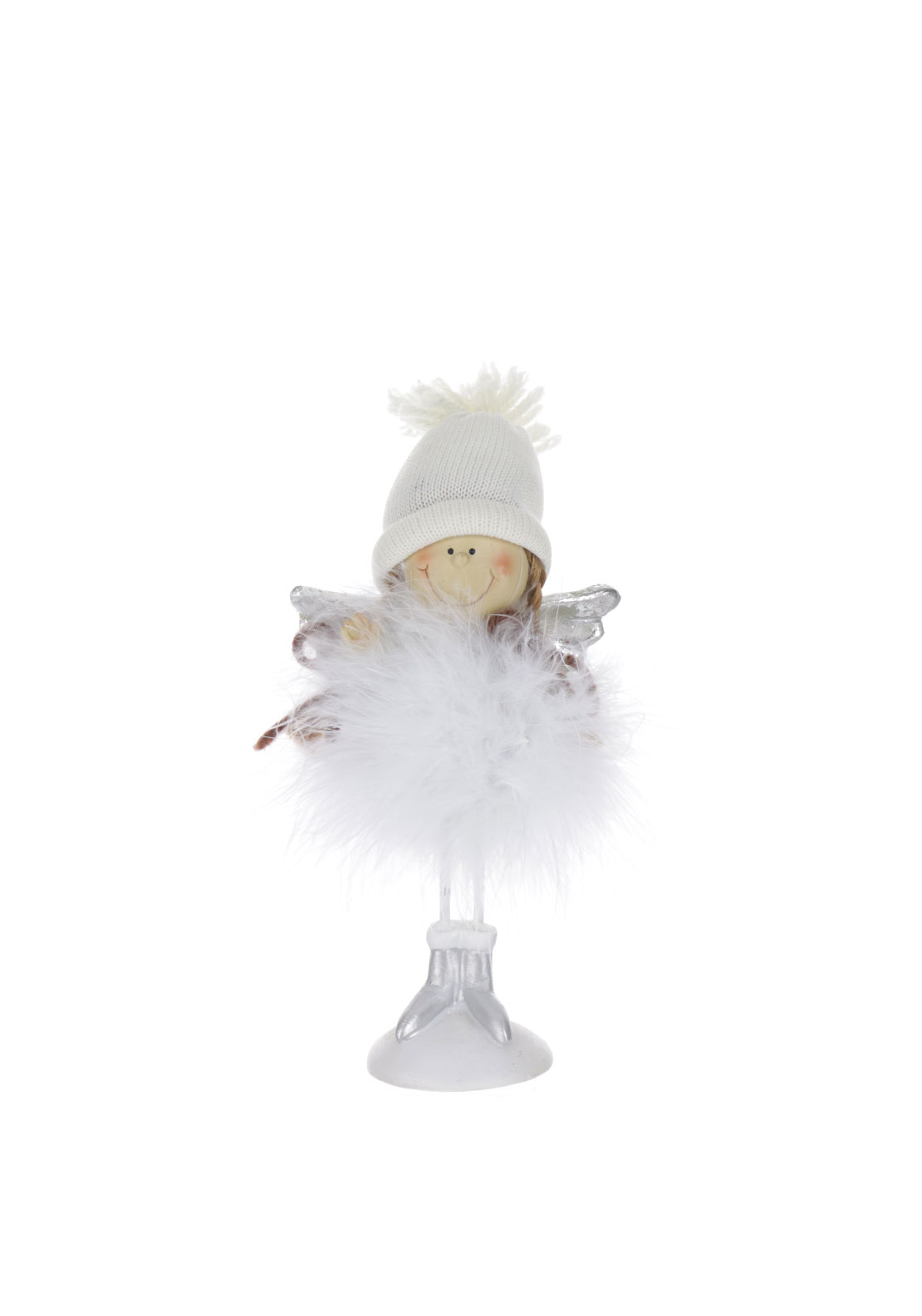 Verano Feather Angel Christmas Ornament