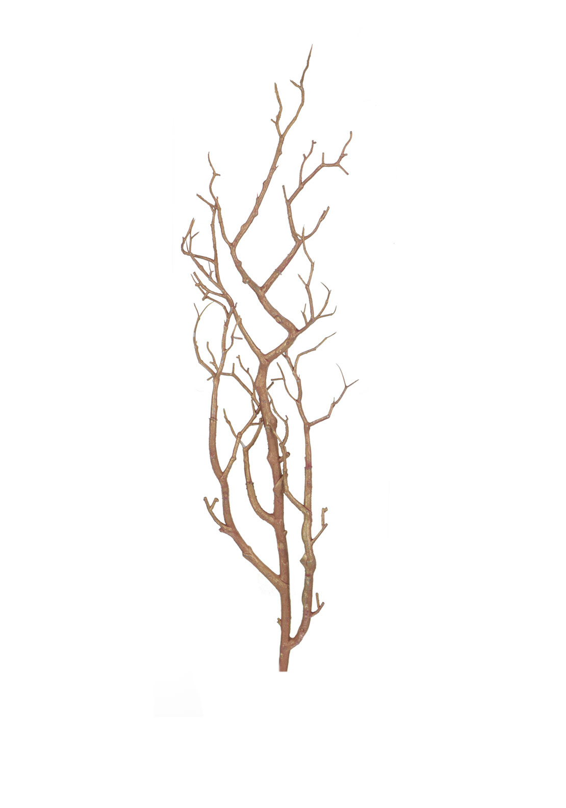 Rose Gold  Twig Branch Christmas Decoration