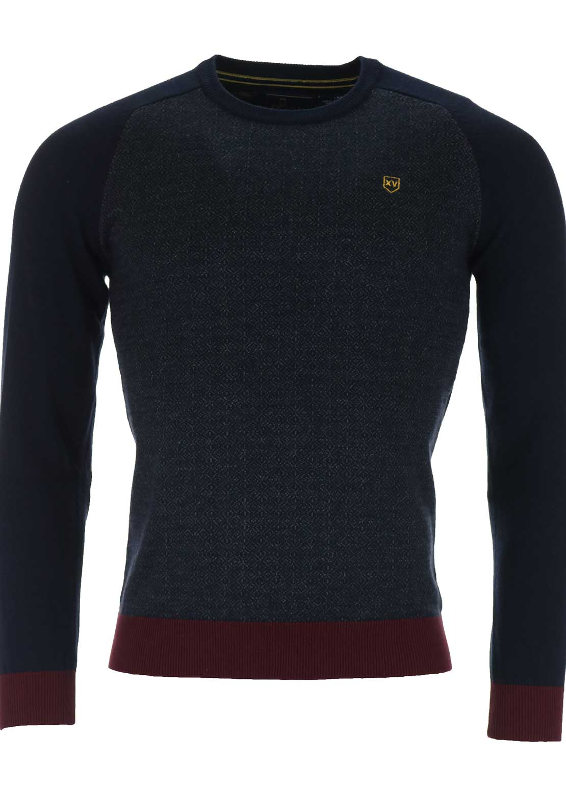 XV Kings Tommy Bowe Avoca Beach Cotton Knit, Grey Mayhem
