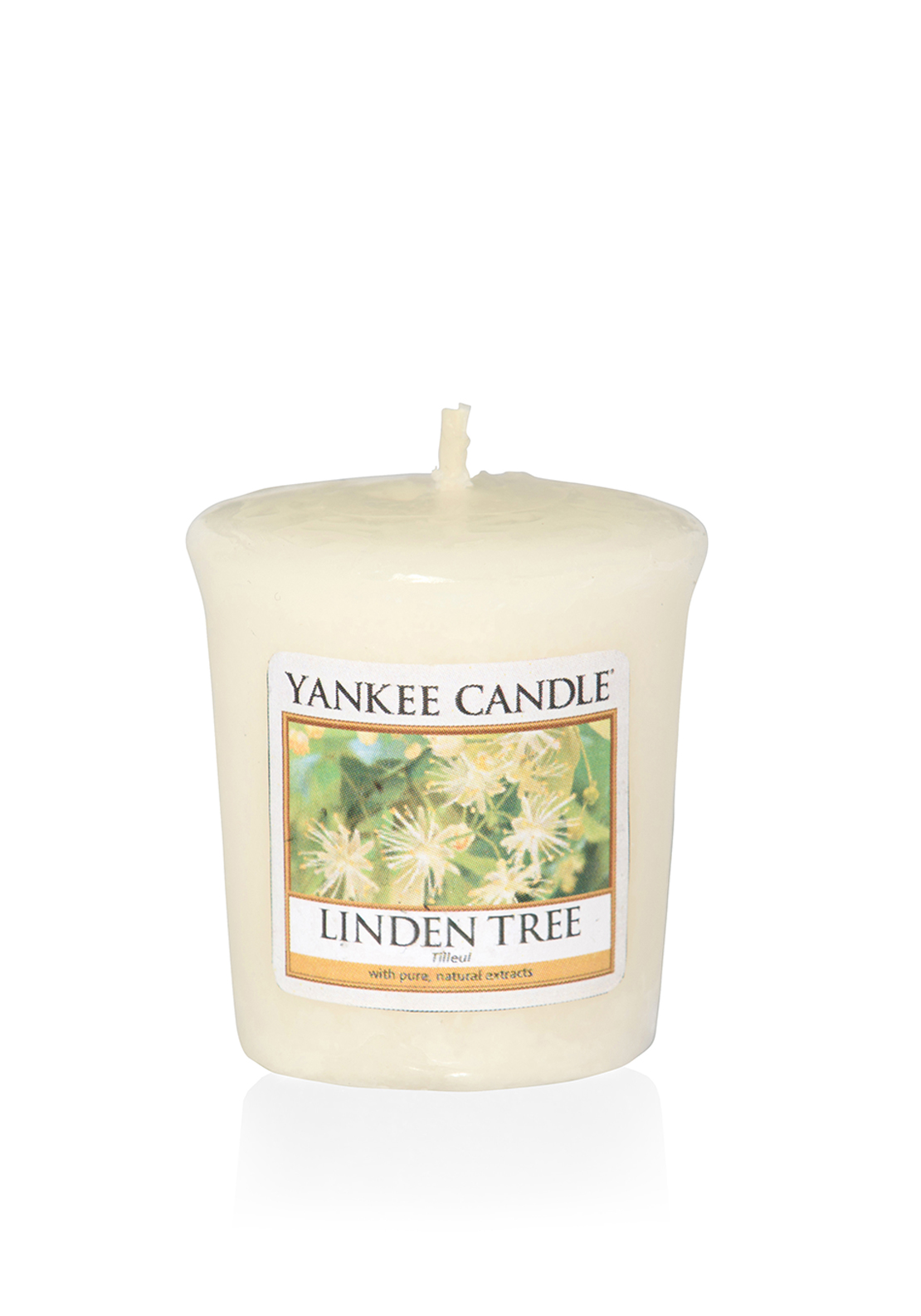 Yankee Candle Votive Candle, Linden Tree