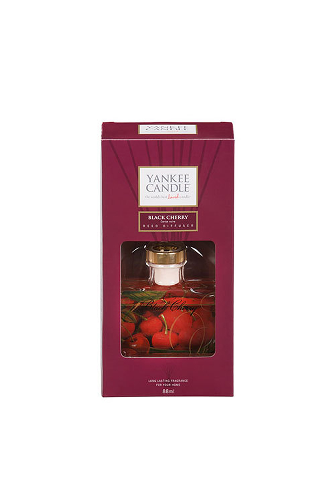 Yankee Reed Diffuser Black Cherry