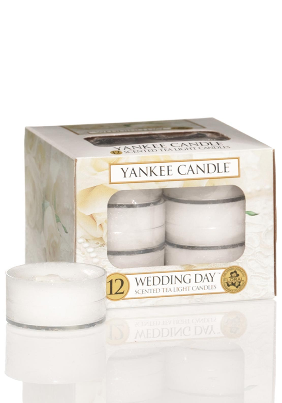 Yankee Candle 12 Scented Tea Light Candles, Wedding Day