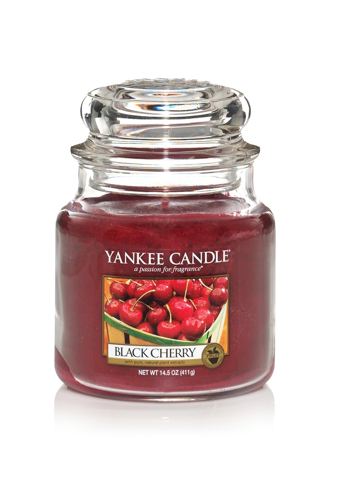 Yankee Candle Medium Classic Jar, Black Cherry