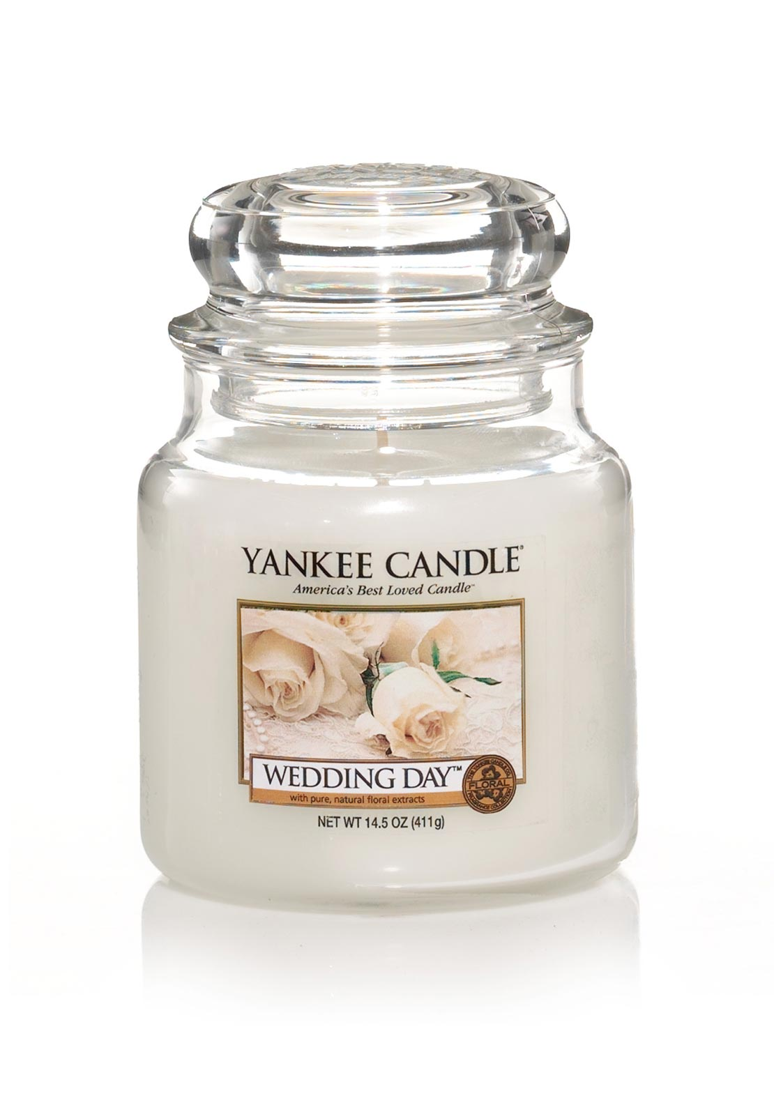 Yankee Candle Medium Classic Jar, Wedding Day
