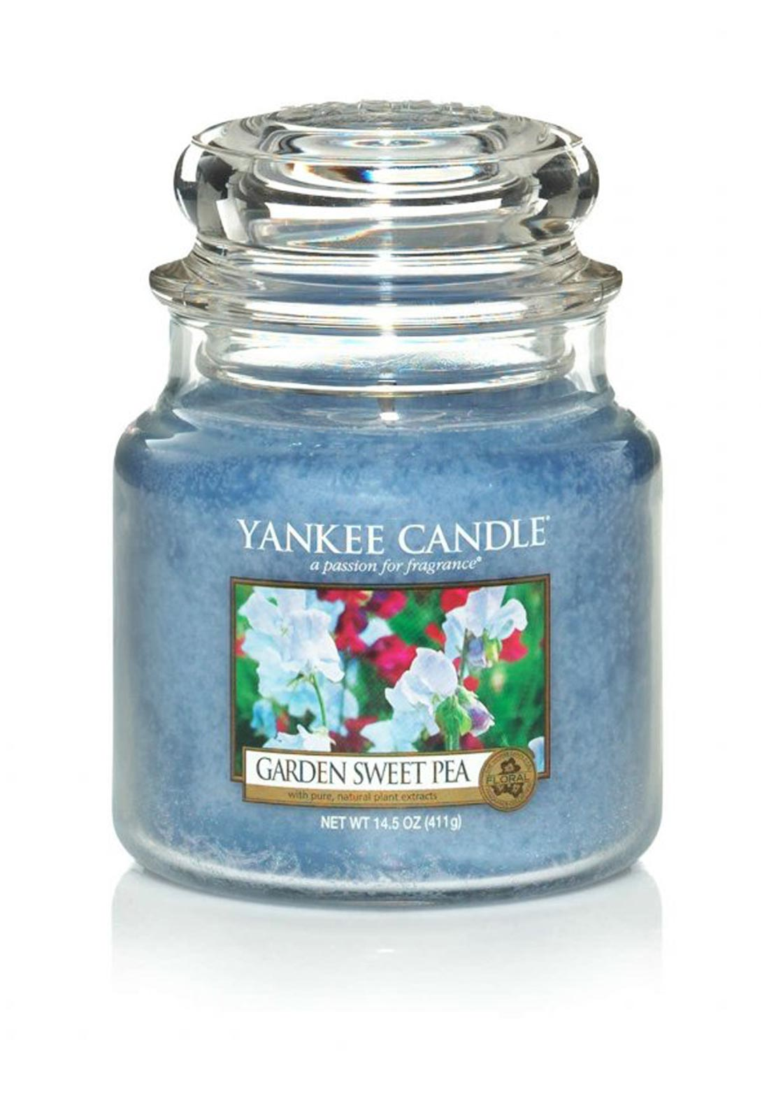 Yankee Candle Medium Classic Jar, Garden Sweet Pea