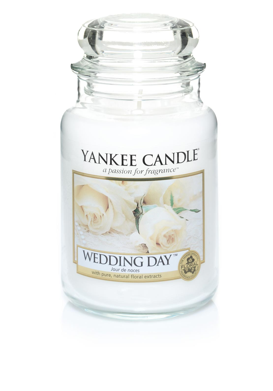 Yankee Candle Large Classic Jar, Wedding Day