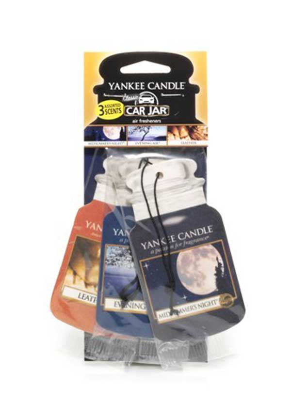 Yankee Candle Car Jar 3 pack Assorted, Cruise Night