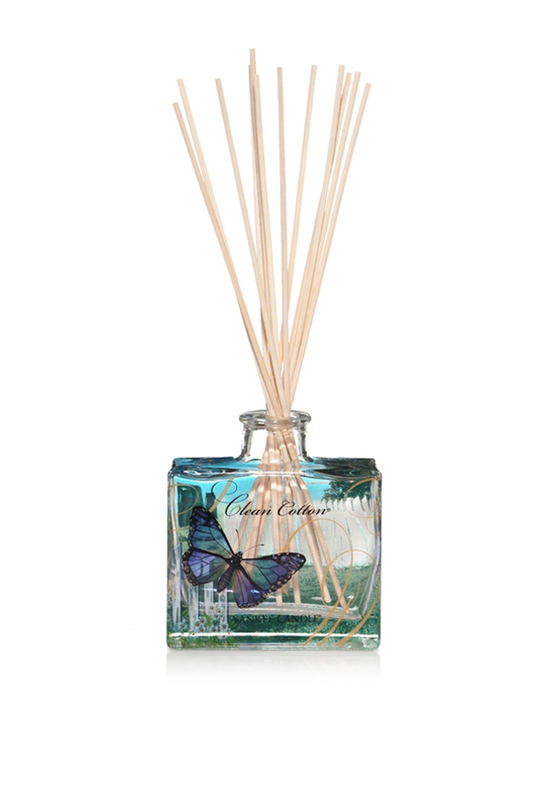 Yankee Candle Reed Fragrance Diffuser, Clean Cotton