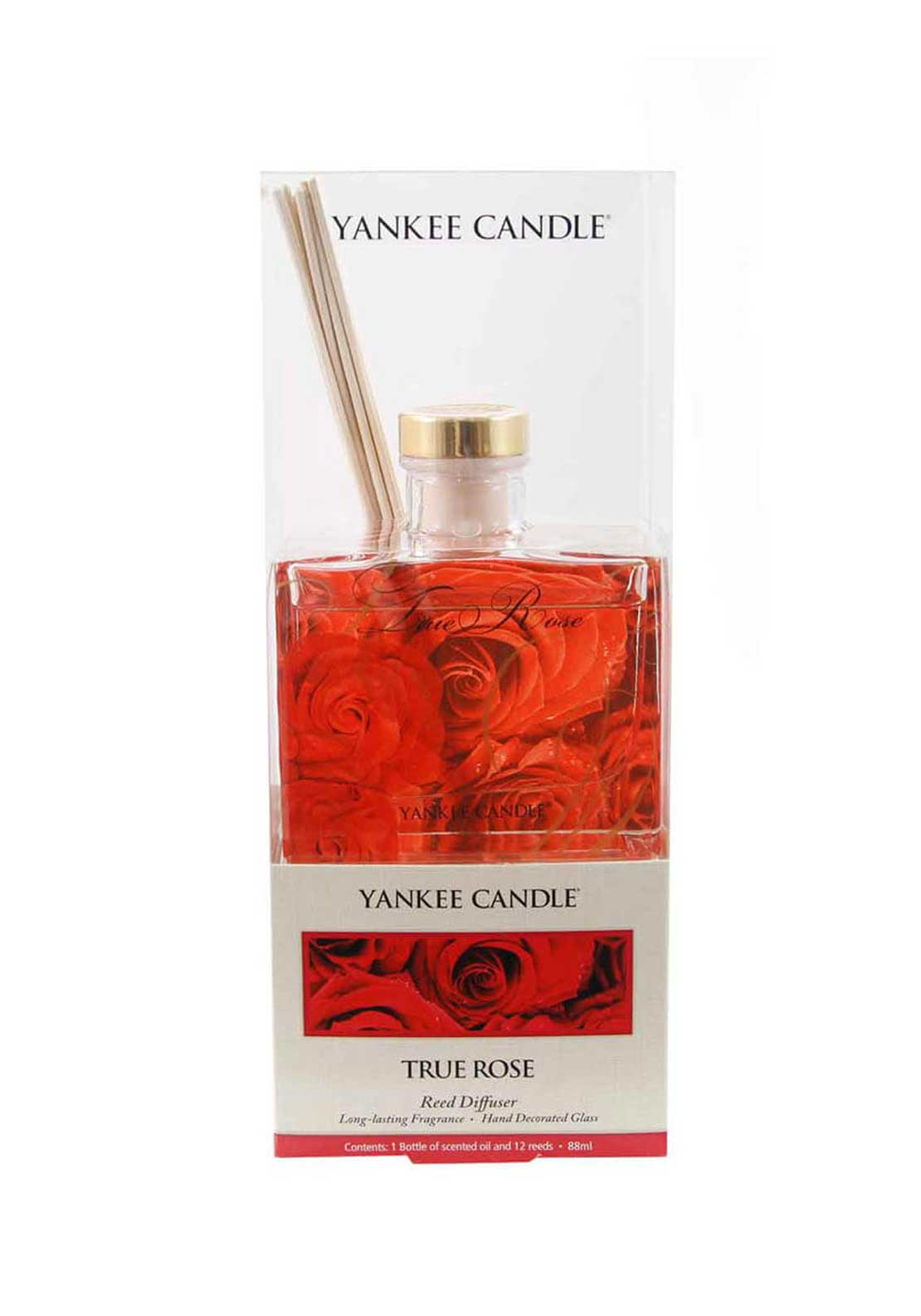 Yankee Candle Reed Fragrance Diffuser, True Rose