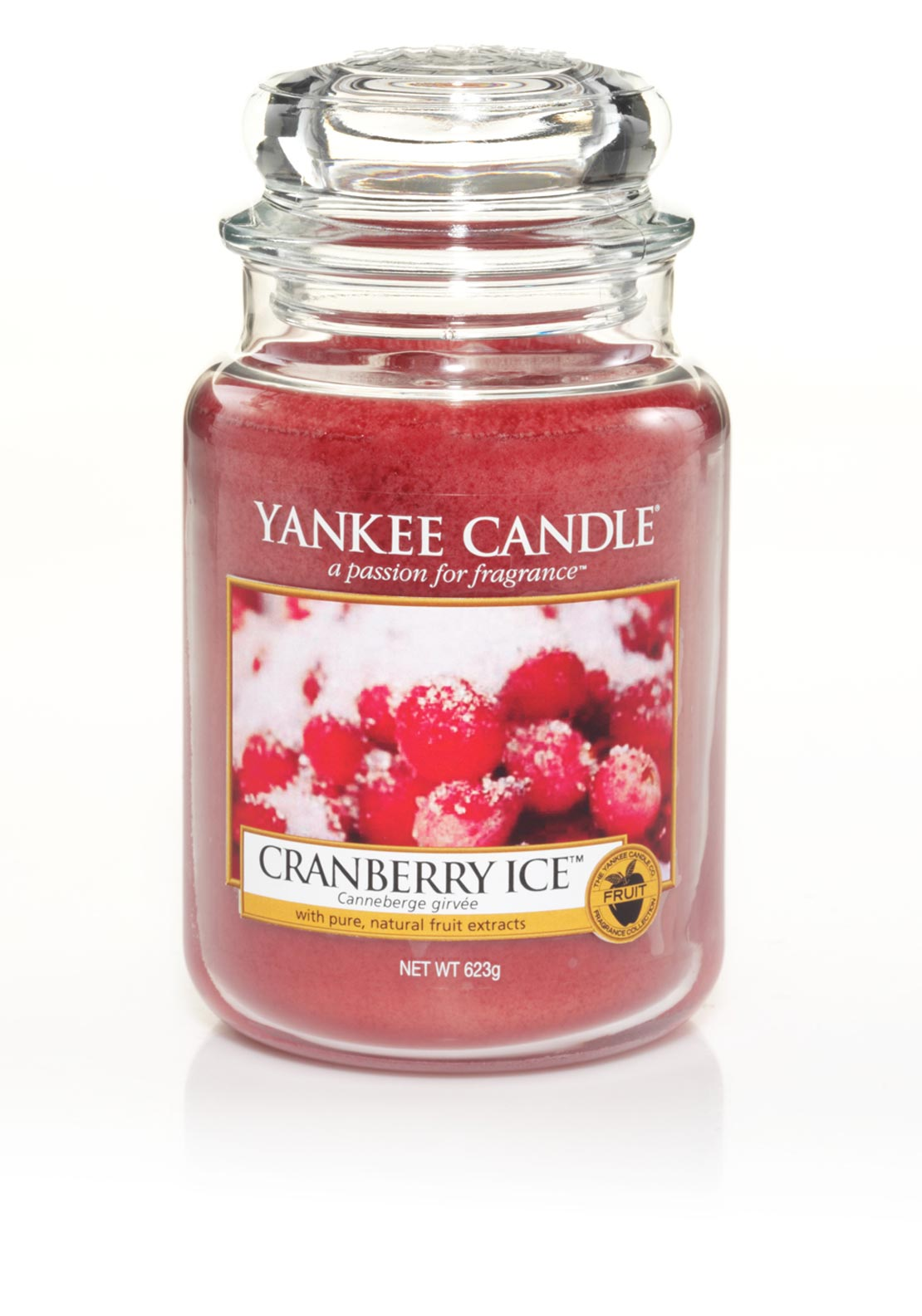 Yankee Candle Large Classic Jar, Cranberry Ice