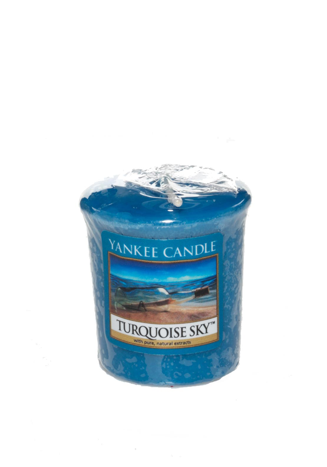 Yankee Candle Sampler Votive Candle, Turquoise Sky