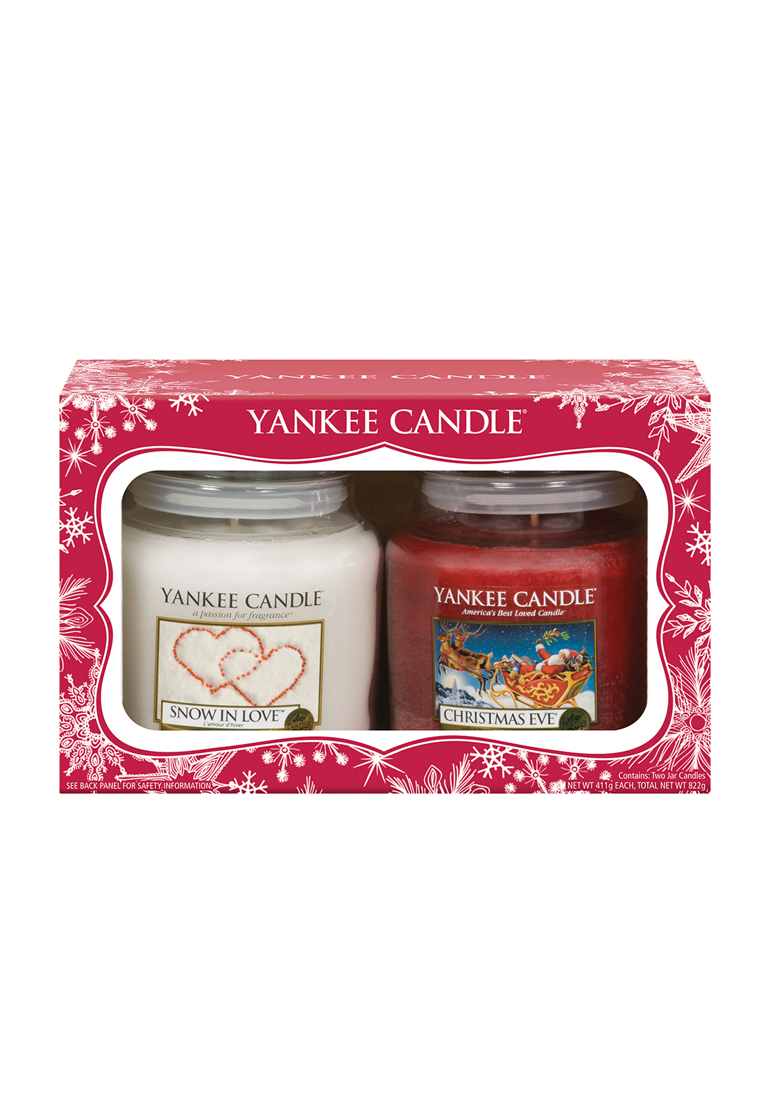 Yankee Candle Christmas, Snow in Love and Christmas Eve Value Gift Set
