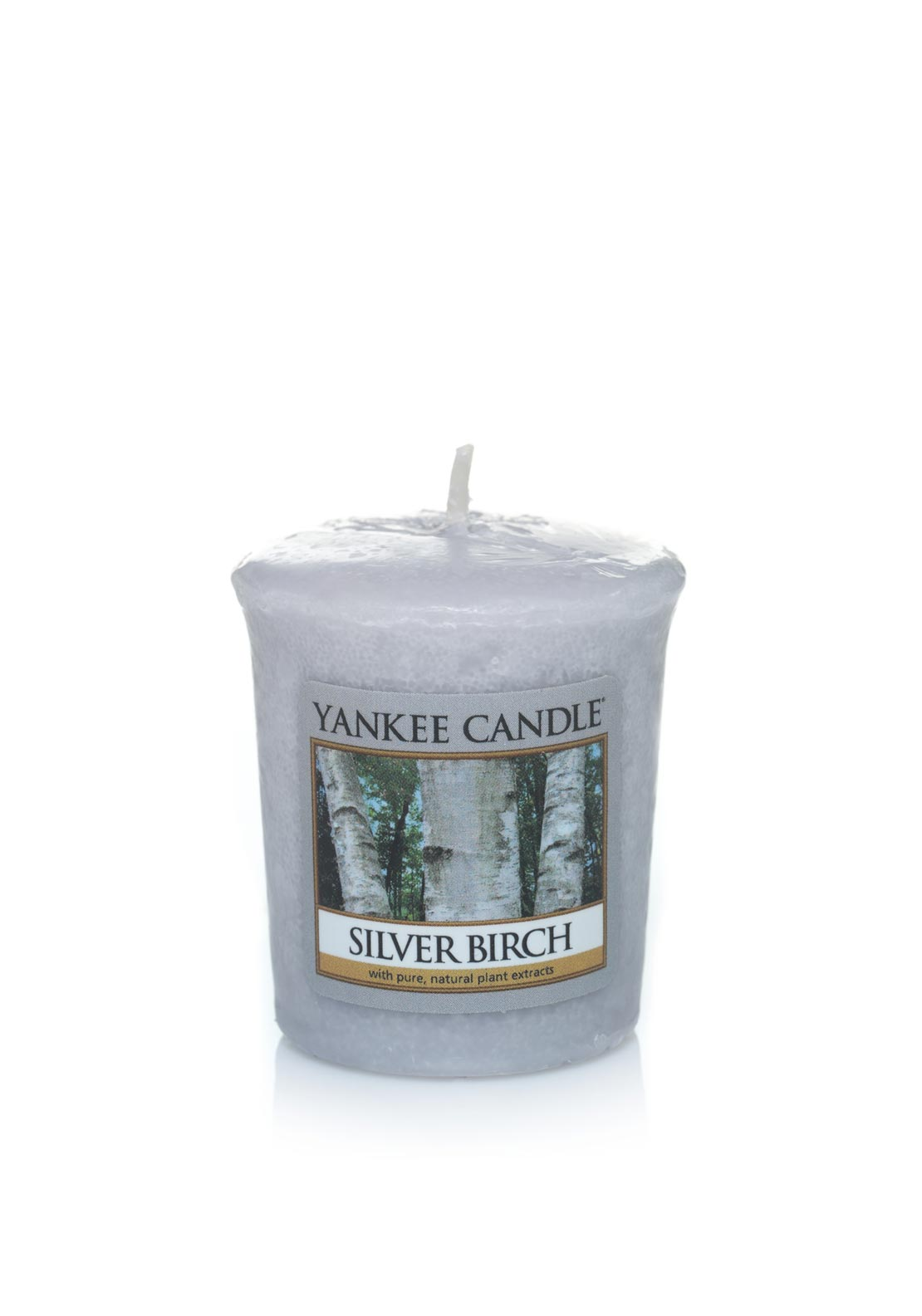 Yankee Candle Sampler Votive Candle, Silver Birch
