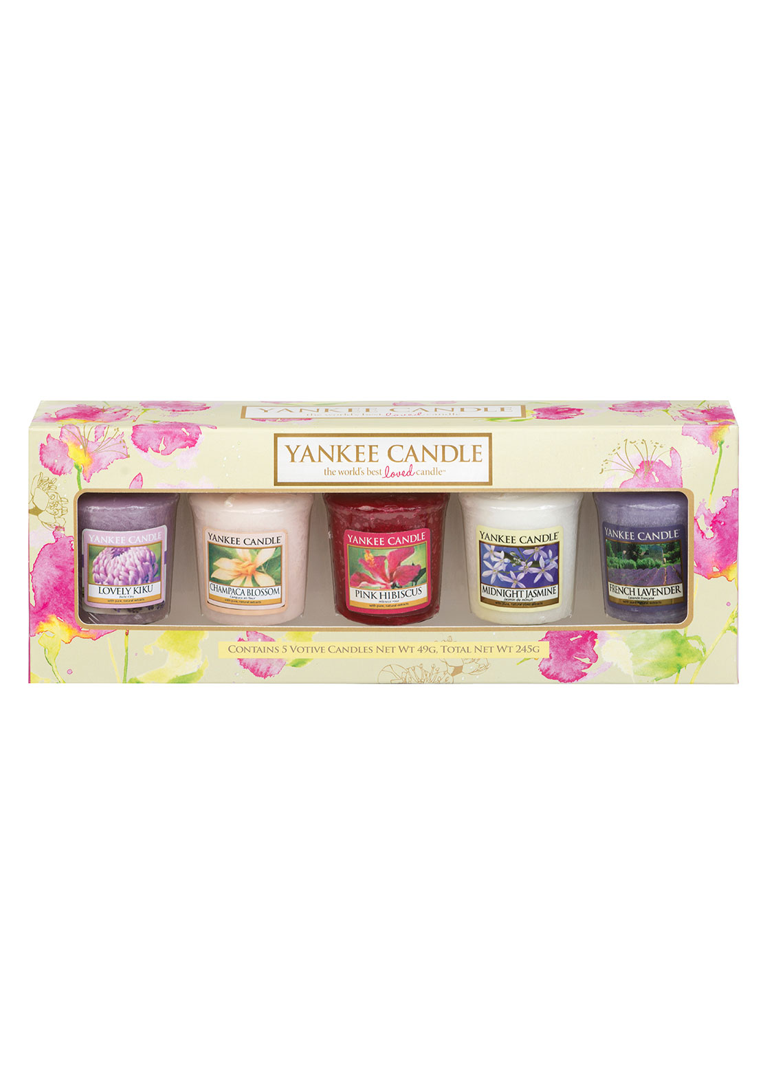 Yankee Candle Classic 5 Votives, Spring 2014