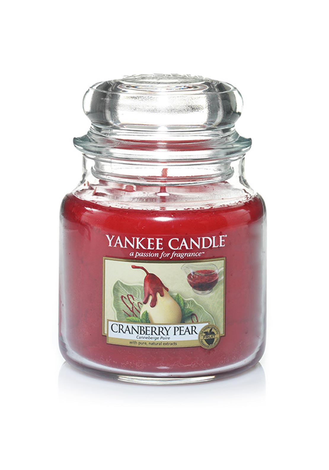 Yankee Candle Medium Classic Jar, Cranberry Pear