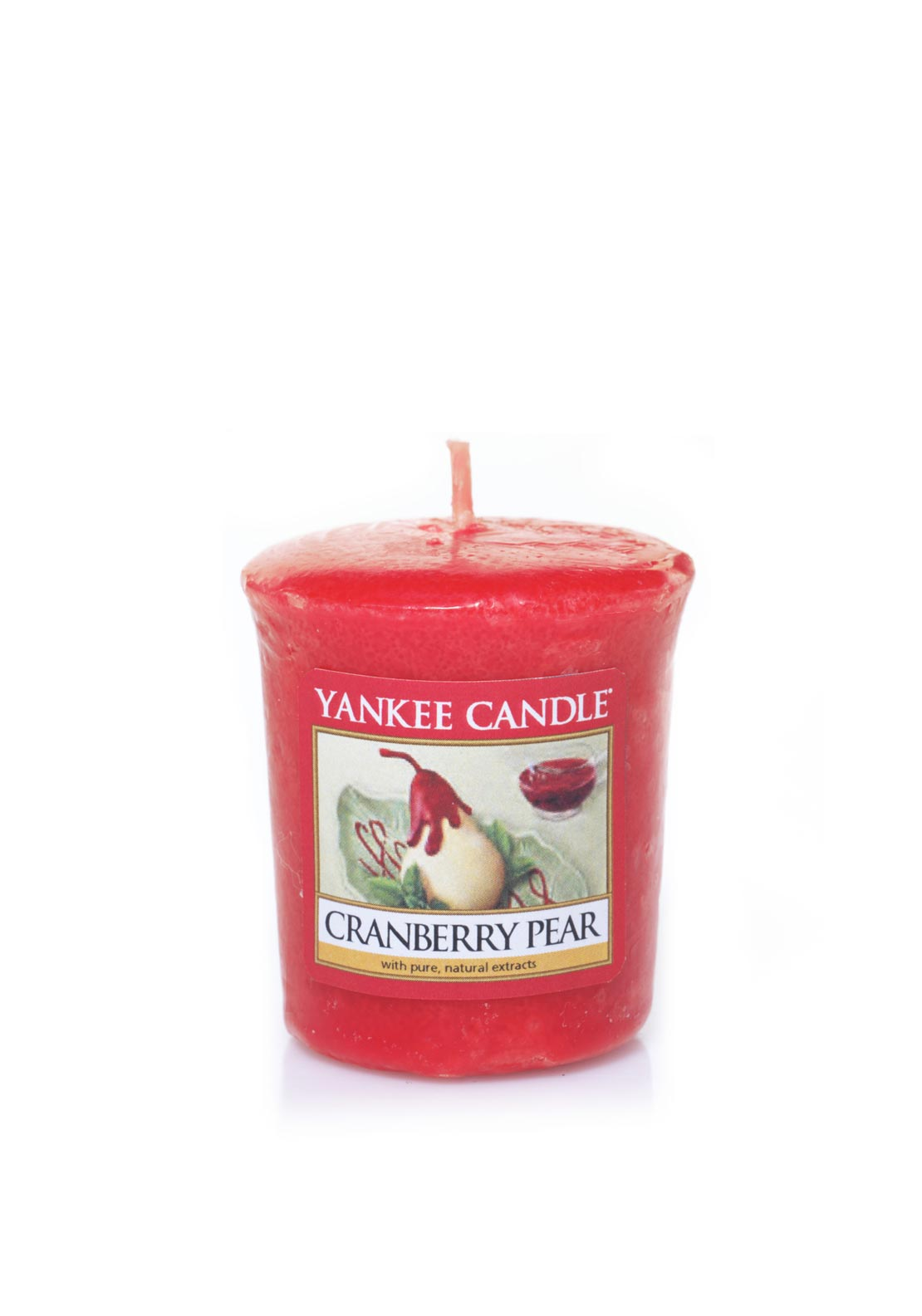 Yankee Candle Sampler Votive Candle, Cranberry Pear