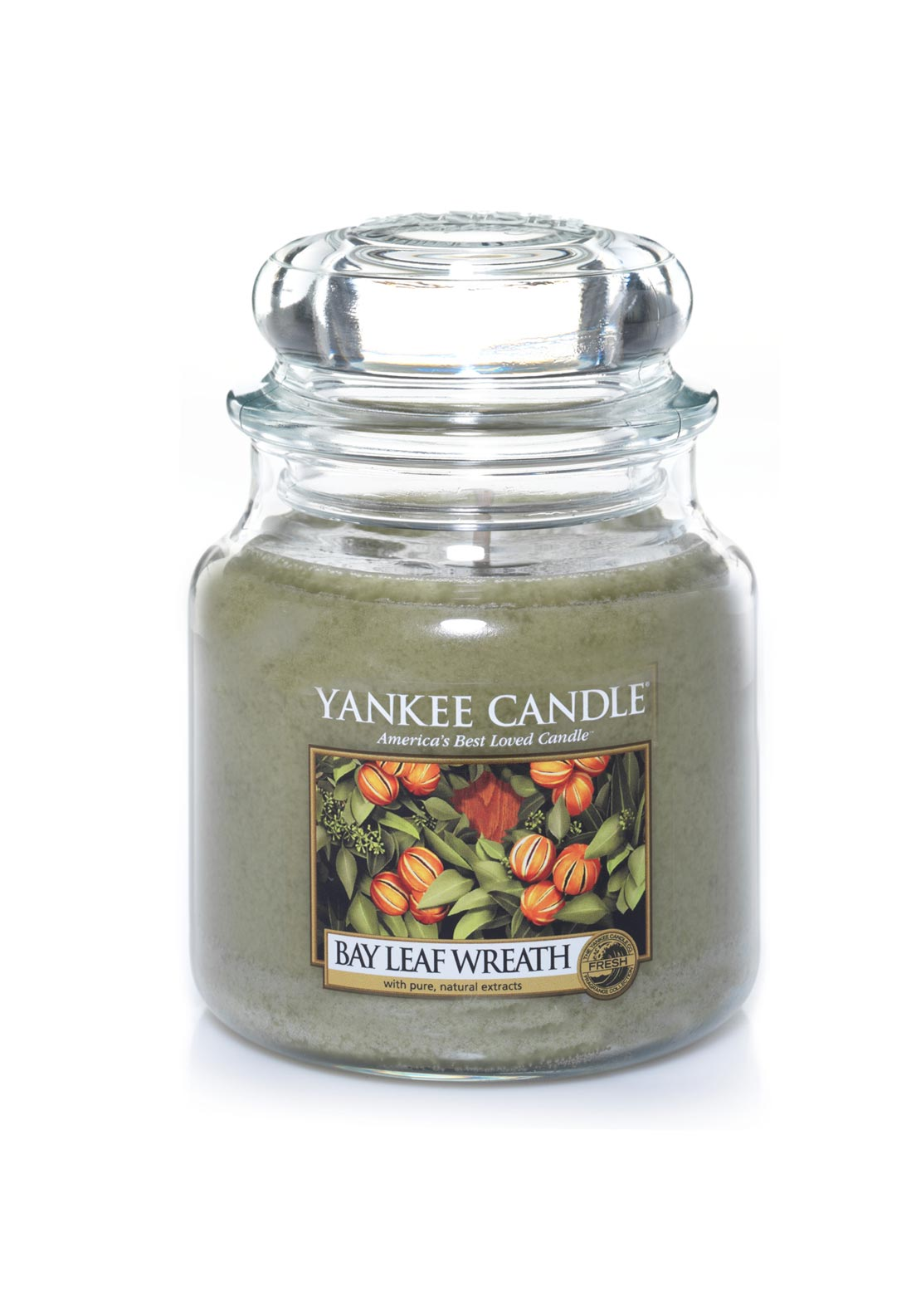 Yankee Candle Medium Classic Jar, Bay Leaf Wreath