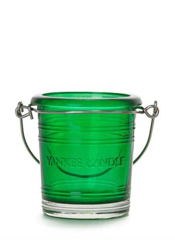 Yankee Candle Bucket Votive Holder, Emerald