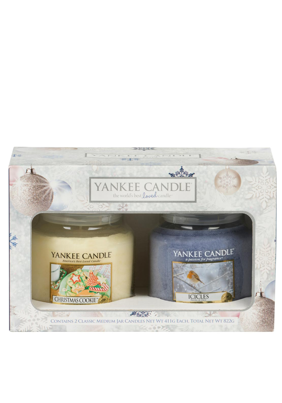 Yankee Candle Christmas 2 Medium Jar Gift Set