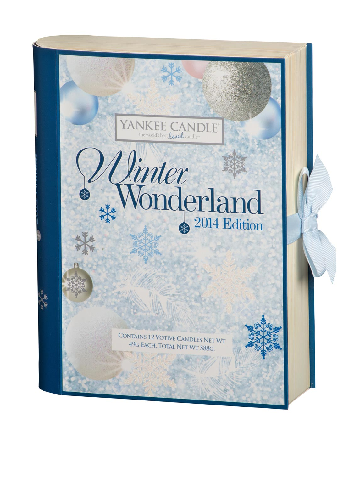 Yankee Candle Christmas Winter Wonderland 12 Votive Candle Gift Set