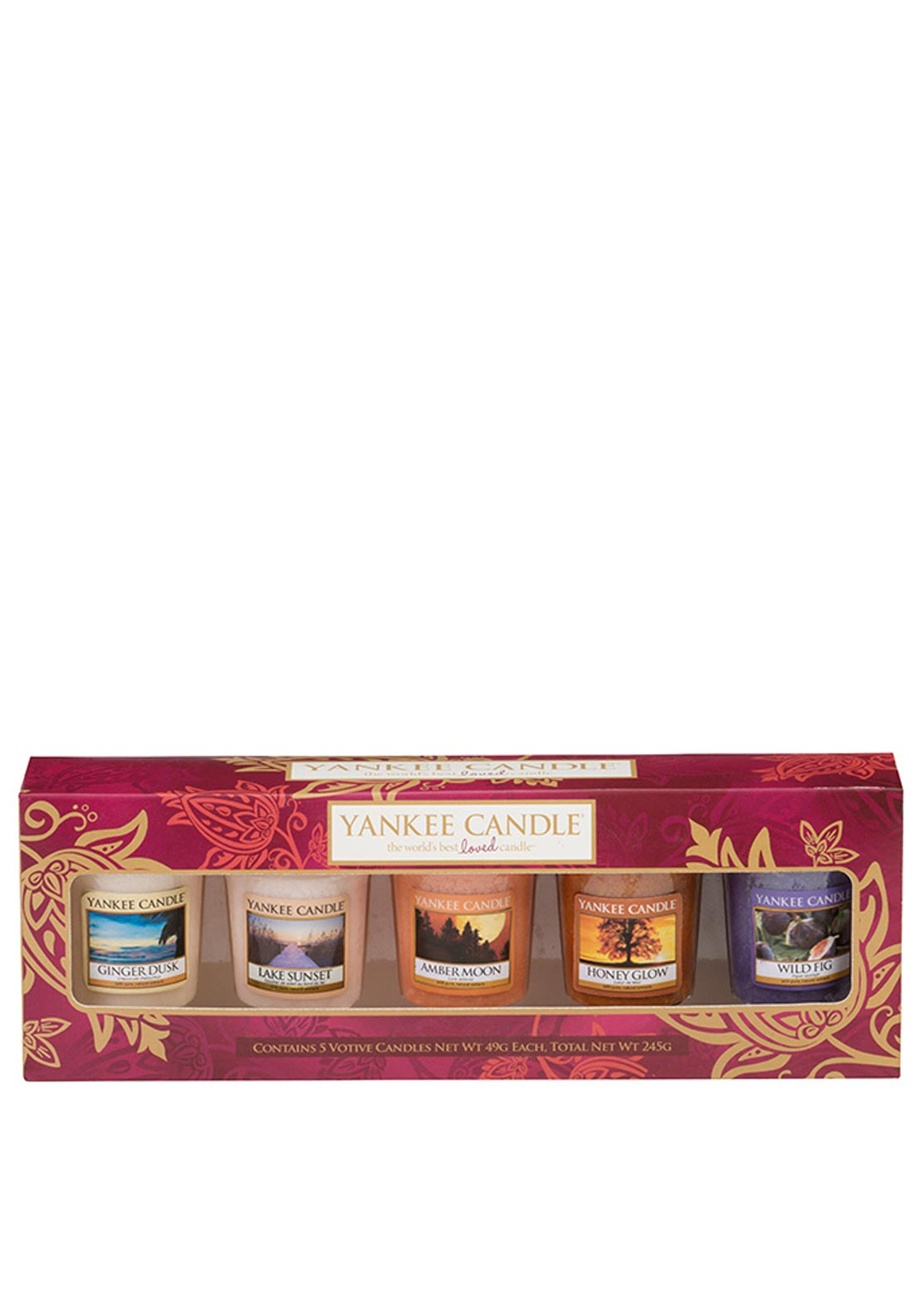 Yankee Candle Buckets and Samplers Gift Set, Indian Summer