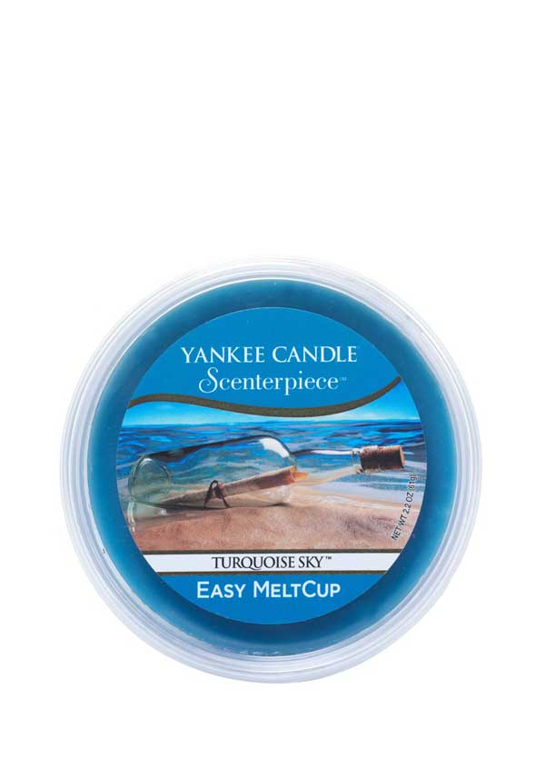 Yankee Candle Scenterpiece Easy MeltCup, Turquoise Sky