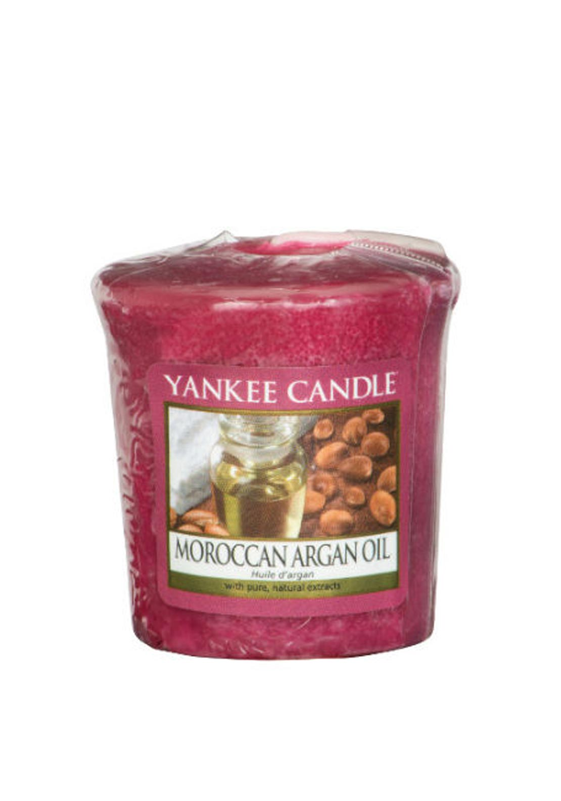 Yankee Candle Sample Votive Candle, Moroccan Argan Oil