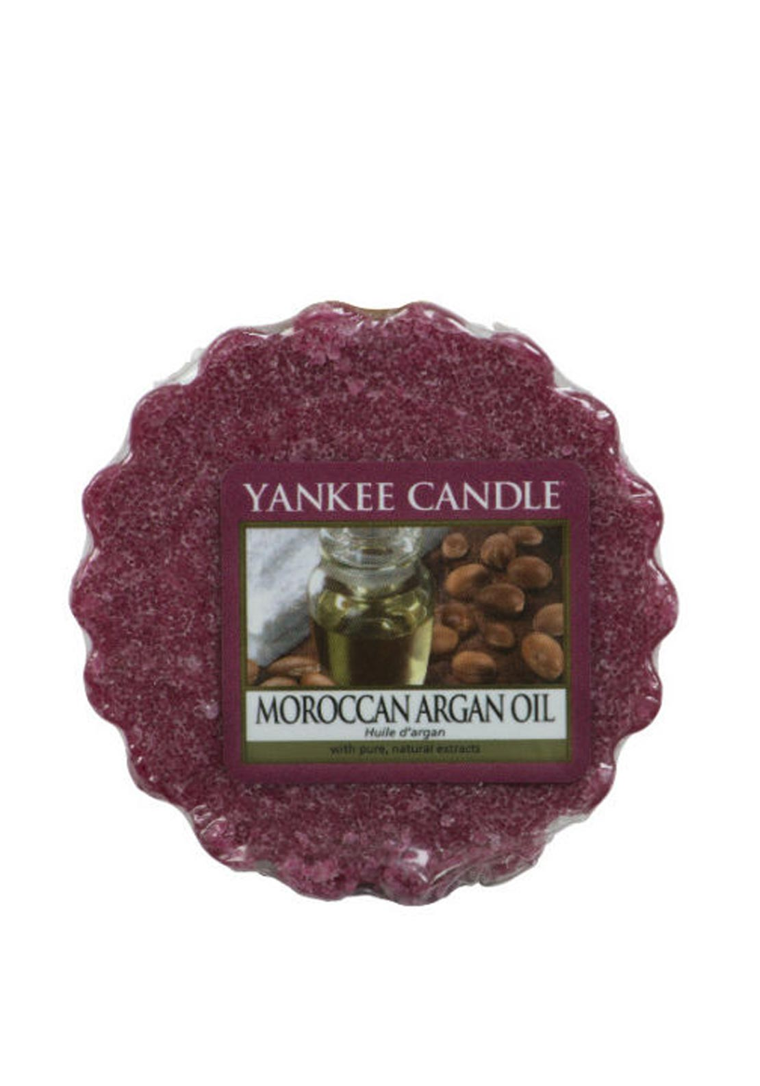Yankee Candle Wax Tart, Moroccan Argan Oil