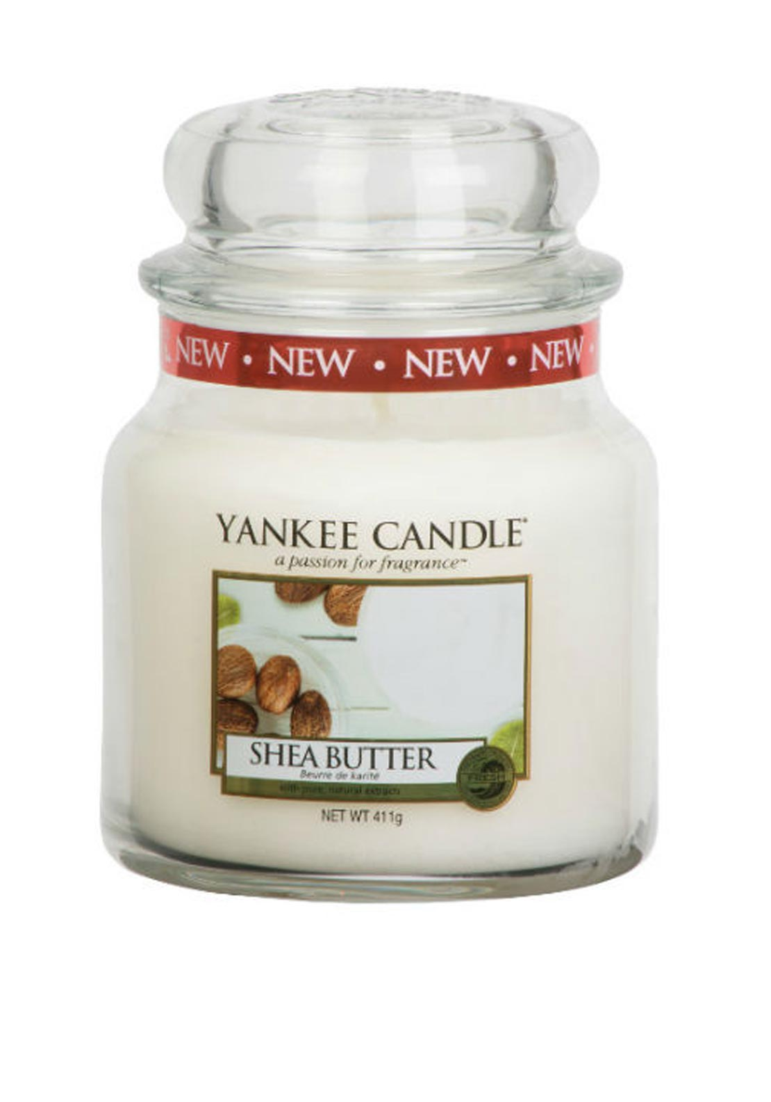 Yankee Candle Medium Classic Jar, Shea Butter