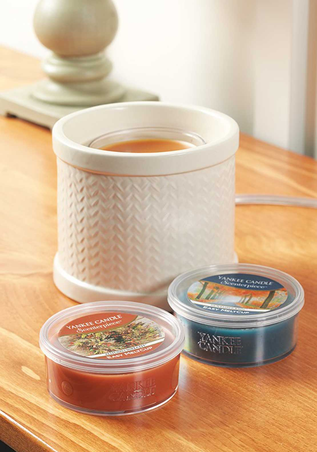 Yankee Candle Scenterpiece Weave Easy Meltcup Warmer