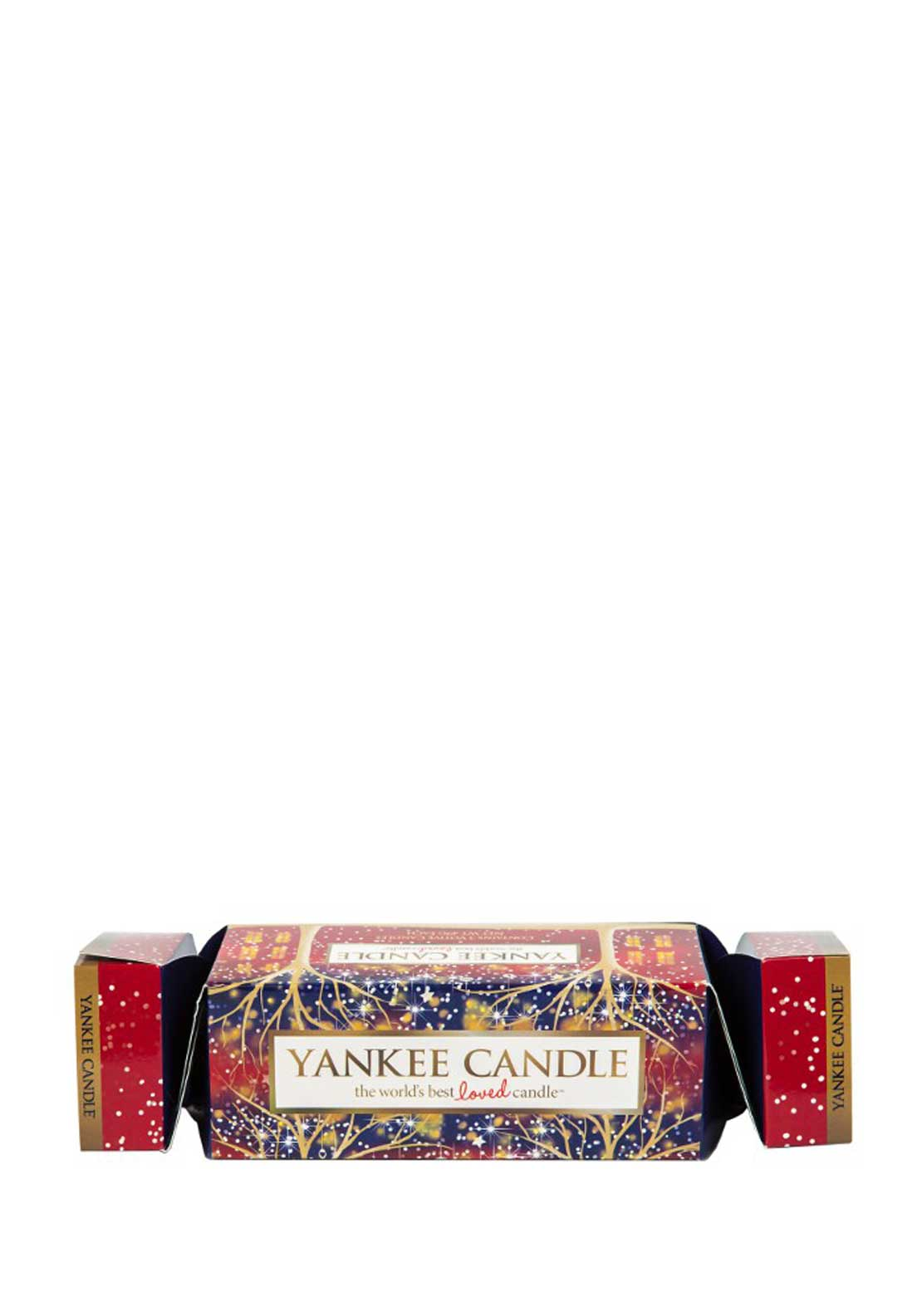 Yankee Candle Christmas 3 Votive Cracker Giftset