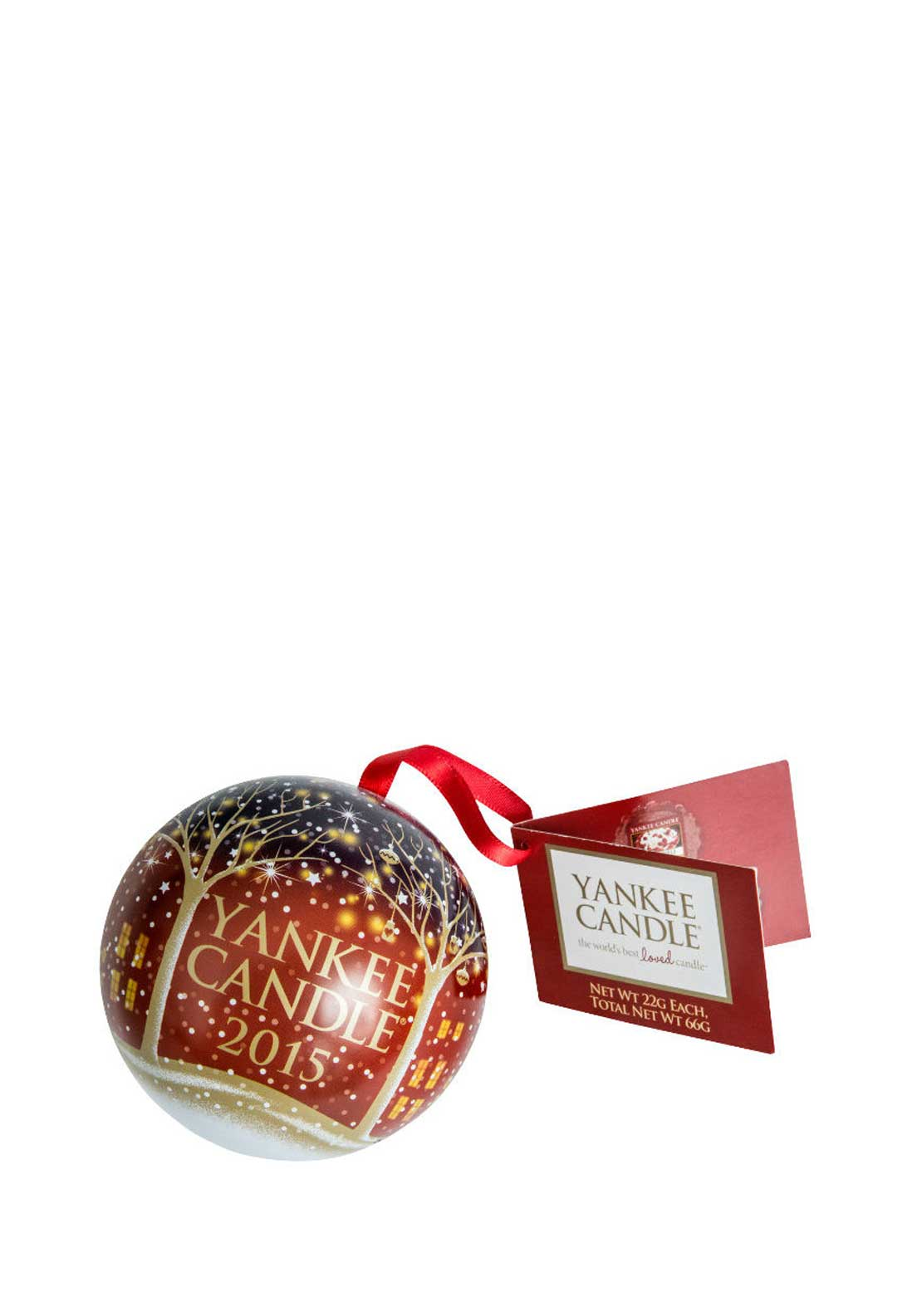 Yankee Candle Christmas 2015 Keepsake Bauble