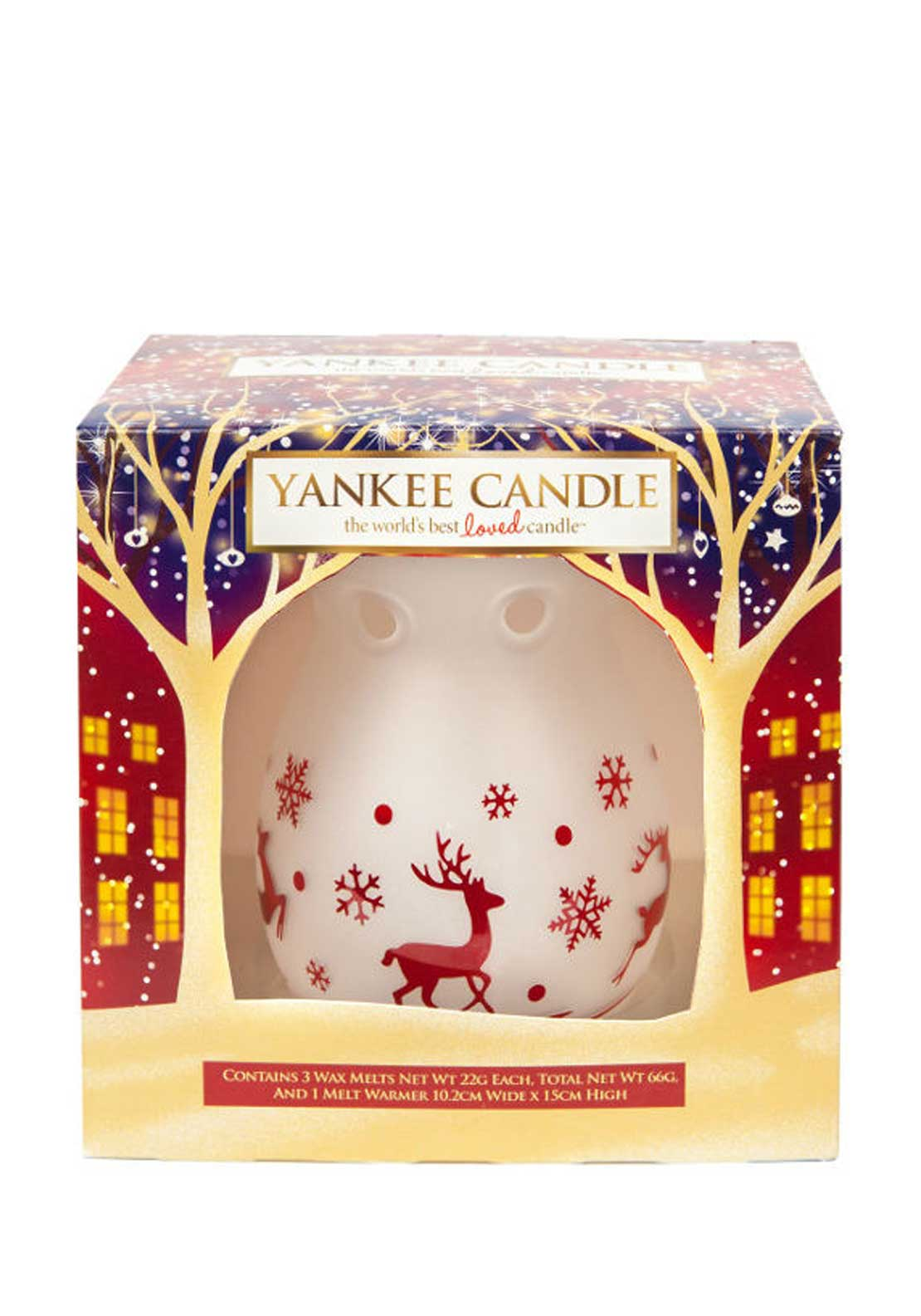 Yankee Candle Christmas Melt Warmer Giftset